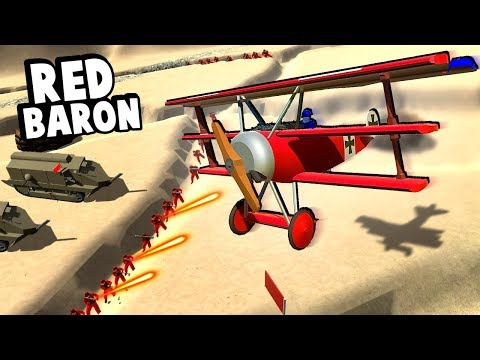 Becoming an Epic Red Baron Ace Pilot and Winning World War 1 in Ravenfield!