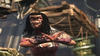Mortal Kombat X: Goro and Mileena Swap Fatalities,Brutalities,Intros and Outros