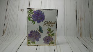 A Simple Floral Water Color Card Process Video
