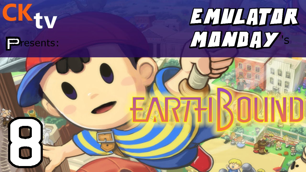 Emulator Monday: Earthbound (Gameplay) | #8 | That's A Big Mole!