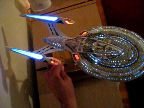 Star Trek Starship Enterprise NCC-1701-E custom built model