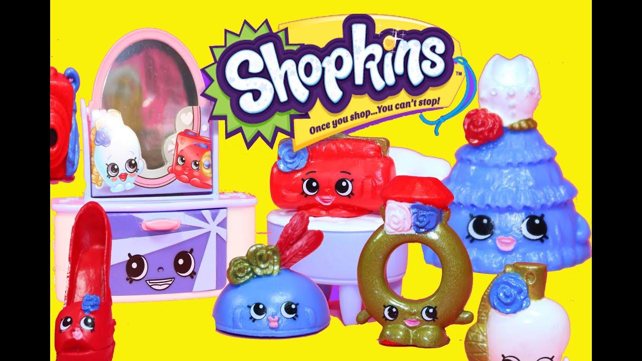 shopkins toy review season 3 fashion spree dress youtube