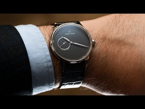 What more do you need on a watch? The Jaquet Droz  Astrale Grand Heure Minute