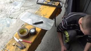 Как вырезать автомобильное зеркало