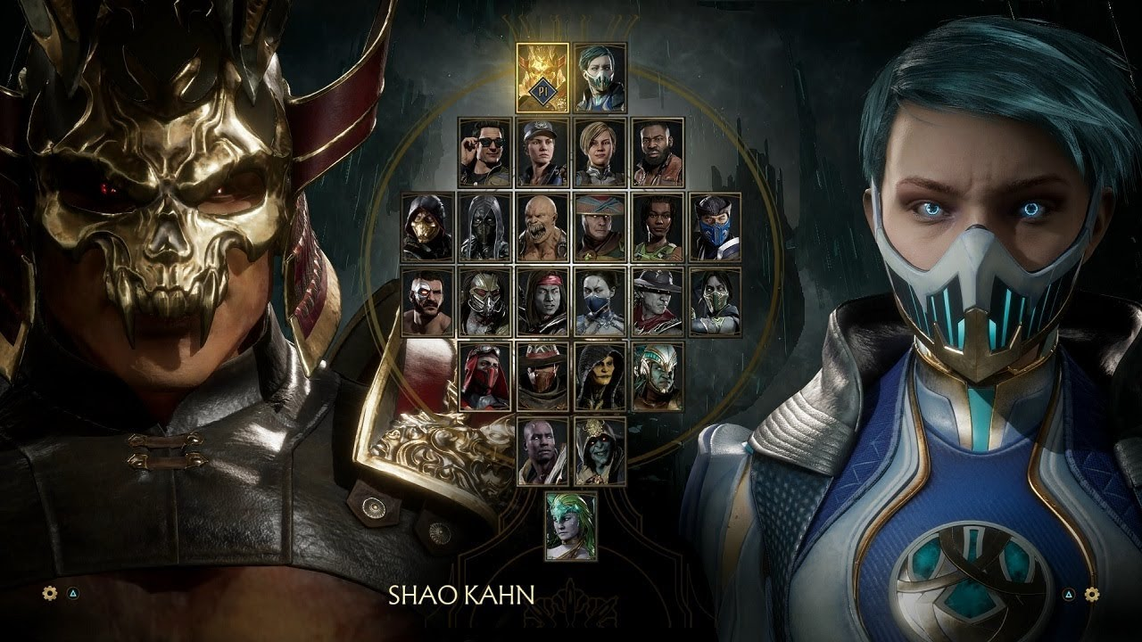 Mortal Kombat 11: Select Screen All Characters and Animations ...