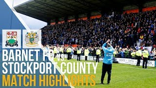 FA Cup - Barnet FC Vs Stockport County - Match Highlights - 02.12.2018