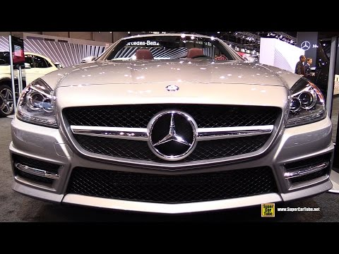 2015 Mercedes Benz SLK Class SLK 250 Roadster   Exterior and Interior Walkaround   2015 Chicago Auto