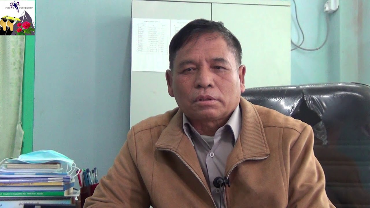 Pu Sonny Thang Cung  Hakha No.1 Pyine Hluttaw Interview le Lawmh Biachim - YouTube