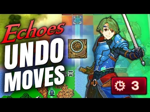 UNDO & REWIND MOVES IN ECHOES + Learn Weapon Skills & Support Boosts Confirmed (Fire Emblem News)