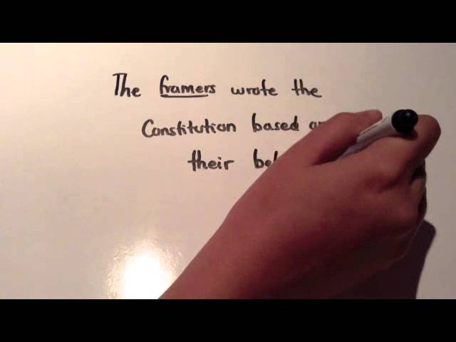 Constitutional Principles - Pease History