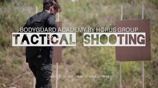 Bodyguard Academy by Horus Group - TACTICAL SHOOTING SLOWMO