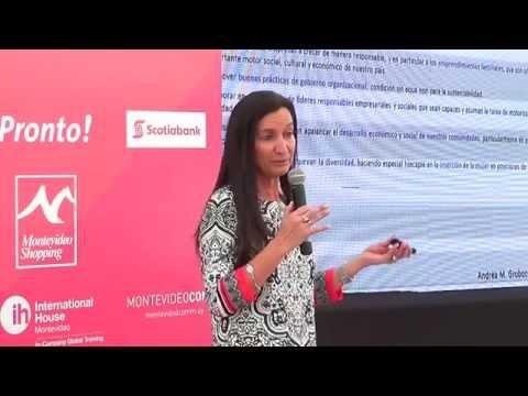 Seminario Más Emprendedoras OMEU - Andrea Grobocopatel