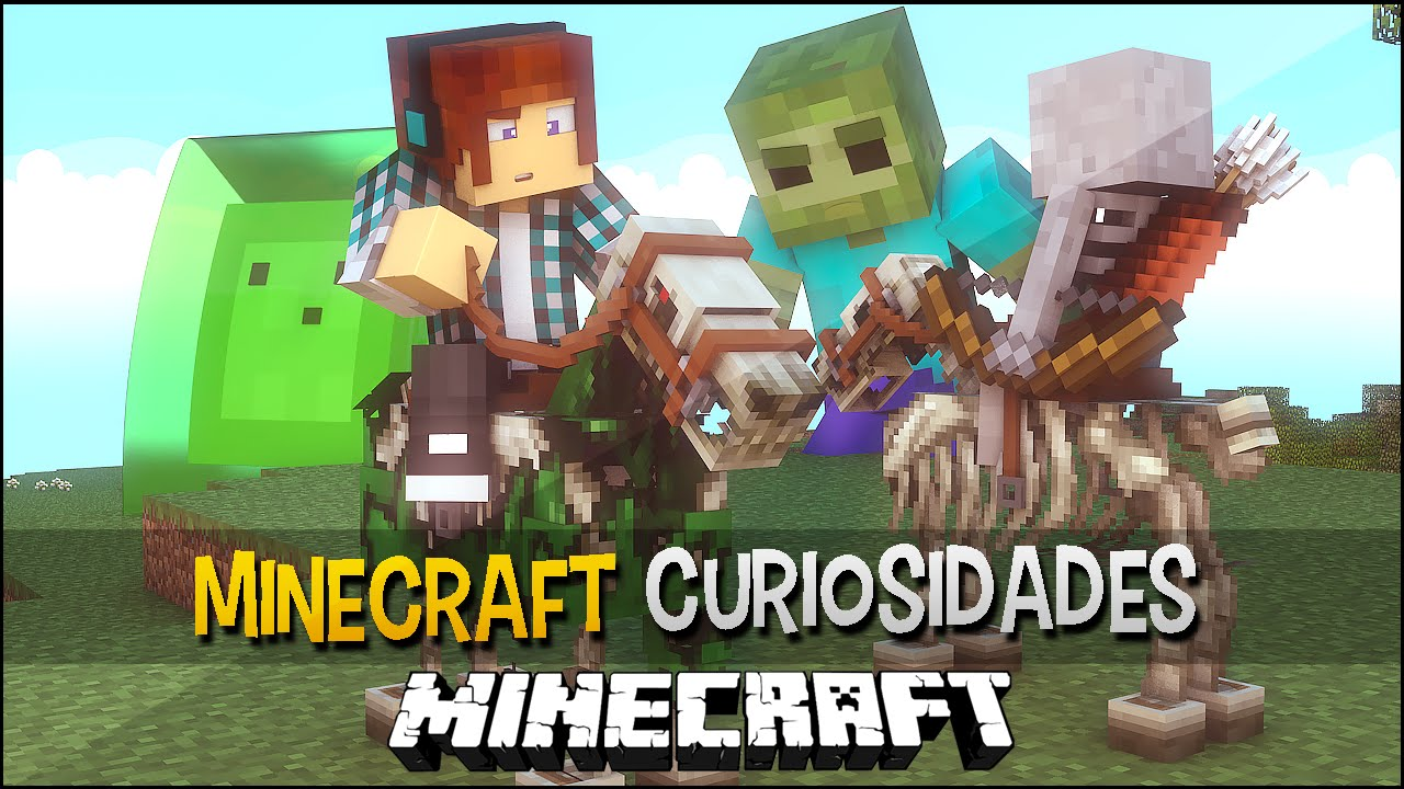 Download Minecraft - 10 Curiosidades Sobre Os MOBS SECRETOS !!