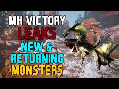 NEW MONSTER HUNTER VICTORY/PORTABLE V LEAKS! thumbnail