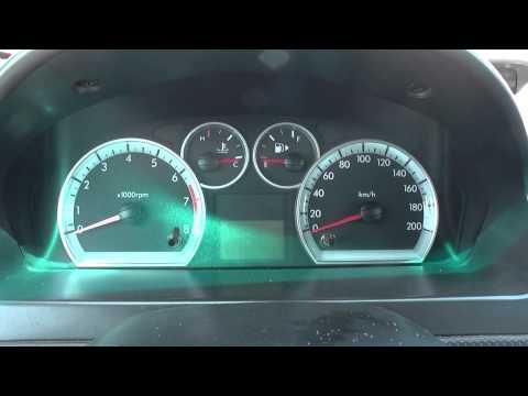 Chevrolet Aveo Dash Warning Lights Engine Start Up Youtube