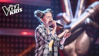 Mariana canta Wrecking Ball – Rescates | La Voz Kids Colombia 2018