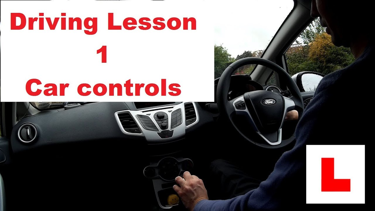 Learn The Controls Of A Car Youtube