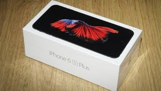 iPhone 6s Plus Unboxing, Setup and First Impressions