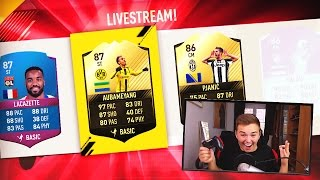 Скачать FIFA 17 87 IF AUBAMEYANG Amp 91 IF BALE FUT DRAFTS PACKS Amp SQUAD BUILDER