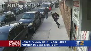 Police: Video Shows Murder Of 21-Year-Old In East New York