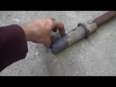 Моя самодельная горелка для газового горна. Устройство газовой горелки для горна.