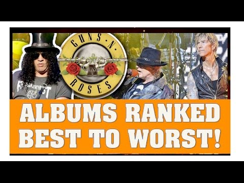 Guns N' Roses: Ranking Their Albums Best To Worst