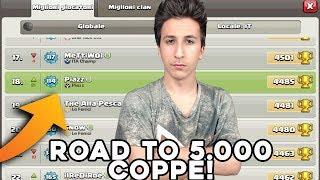 18° in ITALIA | Road to 5000 Coppe#1 | Clash of Clans ITA