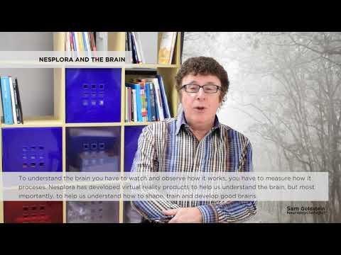 Sam Goldstein and the brain - Nesplora Technology & Behavior