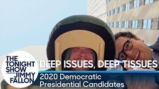 Deep Issues, Deep Tissues: 2020 Democratic Presidential Candidates