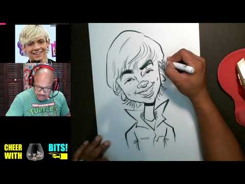 How To Draw Caricatures Ross Lynch