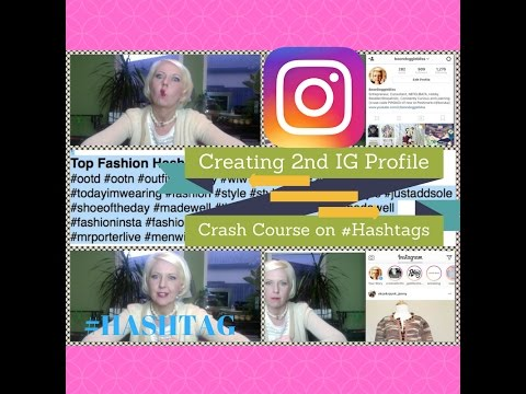Reselling on Instagram: Creating 2nd Account &  Selling Fashion #Hashtag Crash Course