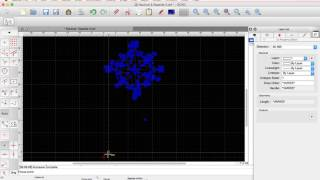 Resize a DXF file with QCAD