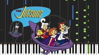 The Jetsons - Main Theme [Piano Tutorial] (♫)