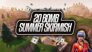 Zayt's 20 Bomb Gameplay in Fortnite Summer Skirmish Week 2