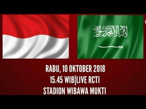 Live (RCTI) Indonesia vs Arab Saudi, Egy MV Bergabung, Berikut Formasi Pemain Timnas U-19