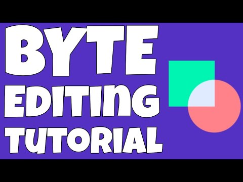 How To Edit Byte Videos - Editing Byte Videos Tutorial