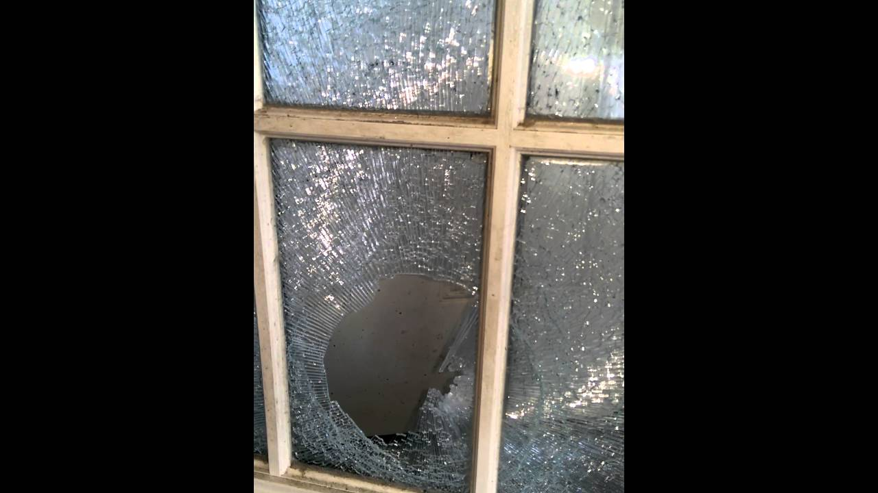 Shattered Glass French Door