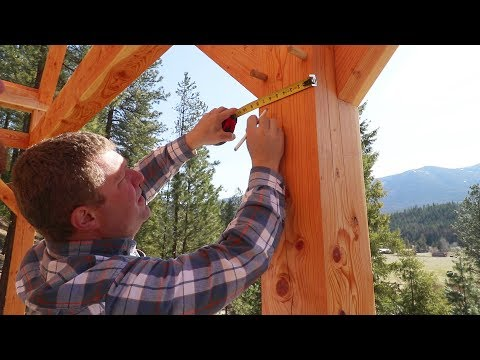 Download Youtube: This Could've Ended Badly! (Squaring Timber Frame)