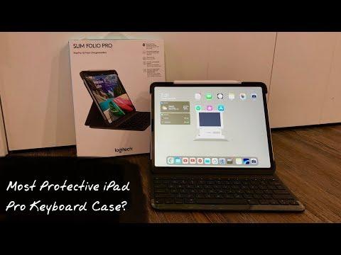 Logitech Slim Folio Pro Keyboard Case | Unboxing & Review!