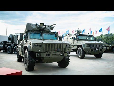 Новейшие модификации бронеавтомобилей