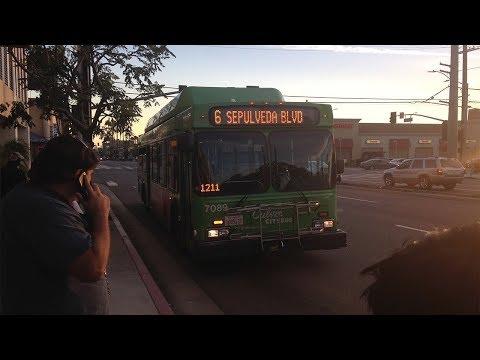 Rare Culver City Oldie [Christmas Special]   Culver CityBus 7089