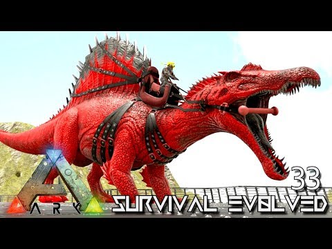 ARK: SURVIVAL EVOLVED - PRIMAL SPINO TAMING & BABY BREEDING !!! E33 (MODDED ARK PUGNACIA DINOS) thumbnail