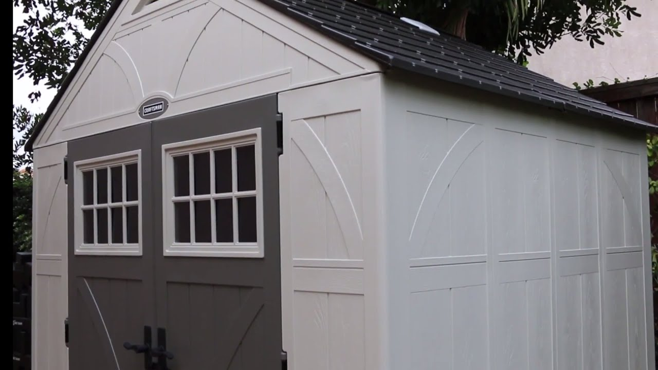 Perfect Craftsman Outdoor Storage Sheds   YouTube