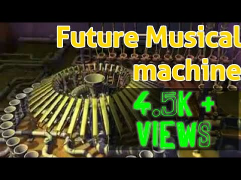 RUBE GOLDBERG FUTURE MUSIC  MACHINE