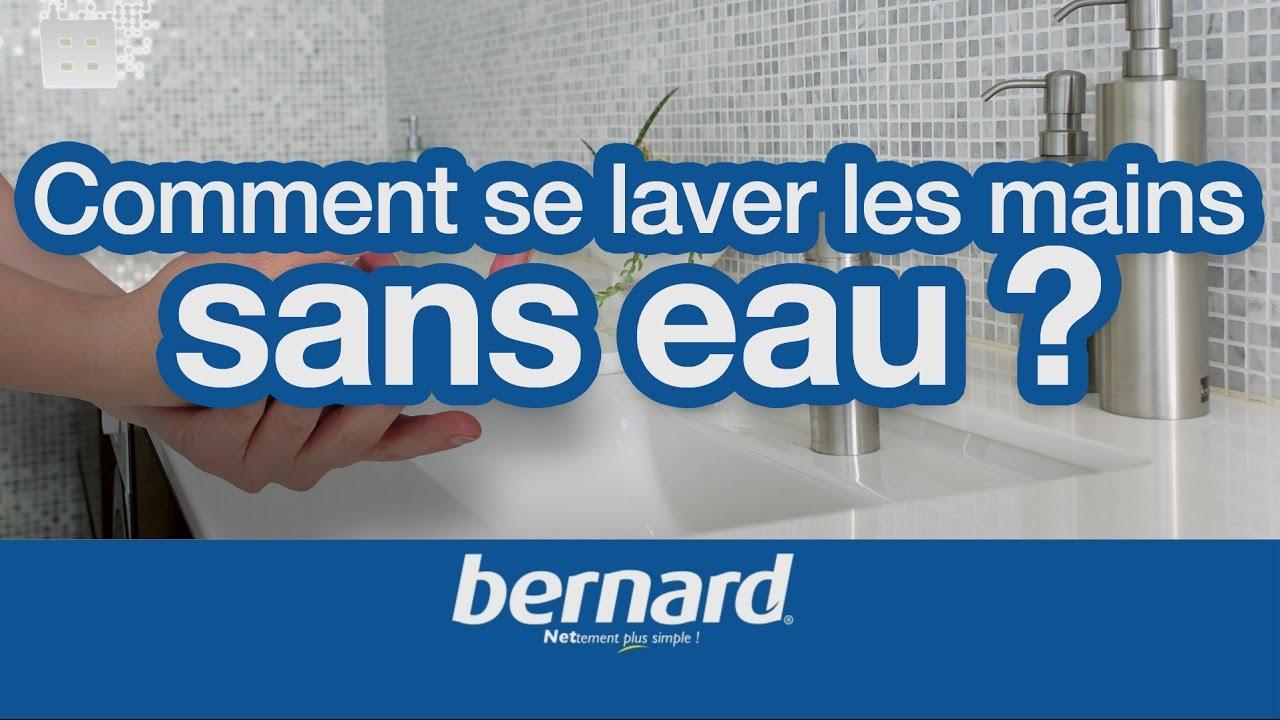 Comment se laver les mains sans eau youtube for Laver ses vitres sans traces