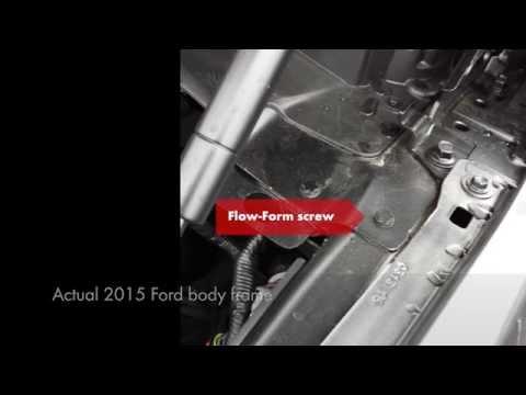 FlowForm Screws for Aluminum Panels