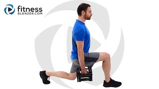 Lower Body Active Static Strength Workout - Strength and Endurance Burnout