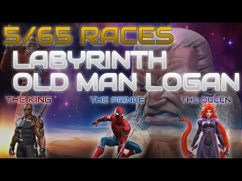 Labyrinth of Legends (LOL) Map UPDATED - Marvel Contest Of