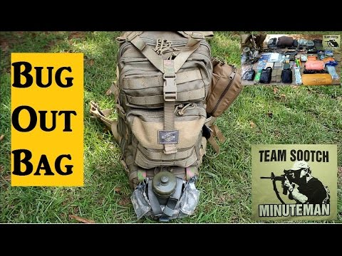 Bug Out Bag Set up  Be prepared