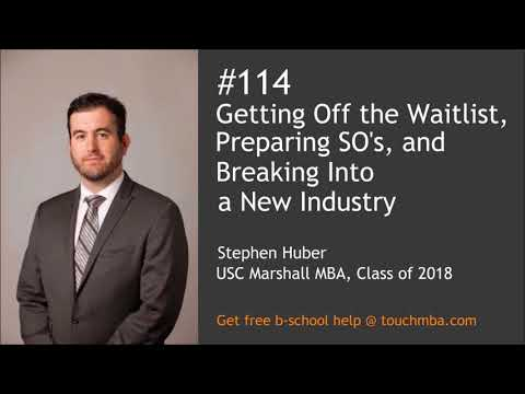 Getting Off the Waitlist, Preparing Significant Others, and Breaking Into a New Industry